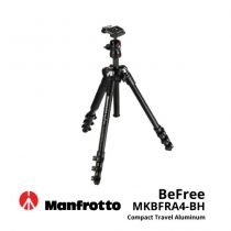 jual Manfrotto BeFree MKBFRA4-BH Compact Travel Aluminum Alloy Tripod