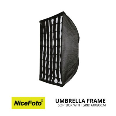 jual Nice Foto Umbrella Frame Softbox with Grid (60x90cm)