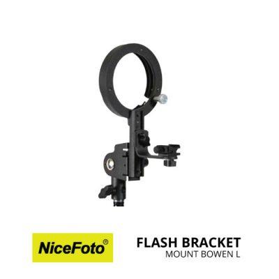 jual NiceFoto Flash Bracket Mount Bowen L