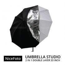 jual Payung Studio - NiceFoto – 2in1 Double-layer Umbrella Studio 33″