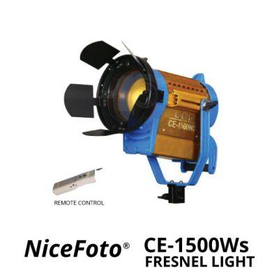 jual NiceFoto Fresnel Light CE-1500Ws