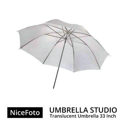 jual Payung Studio - NiceFoto Umbrella Translucent 33inch