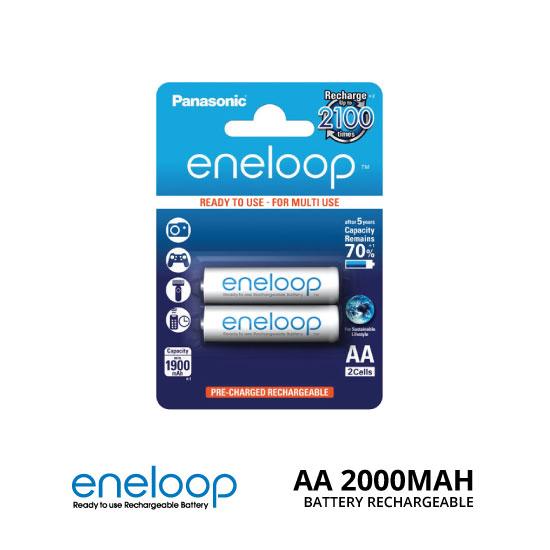 jual PANASONIC-ENELOOP-AA-2000MAH-2PCS-BATERAI