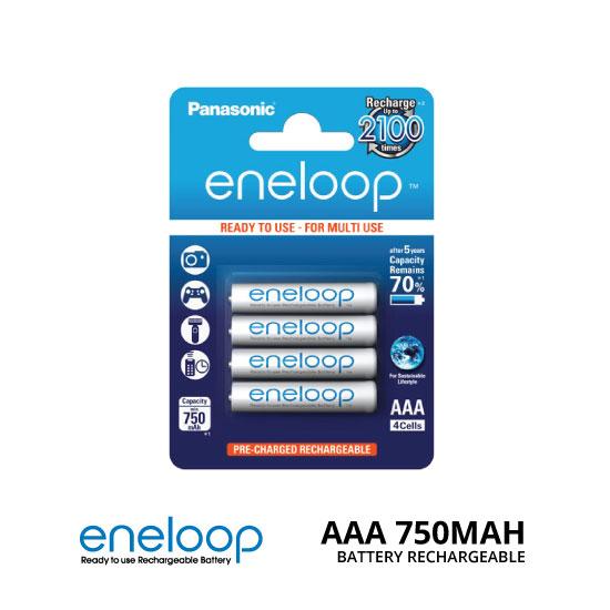 jual Panasonic Eneloop AAA 750mAh 4Pcs Baterai