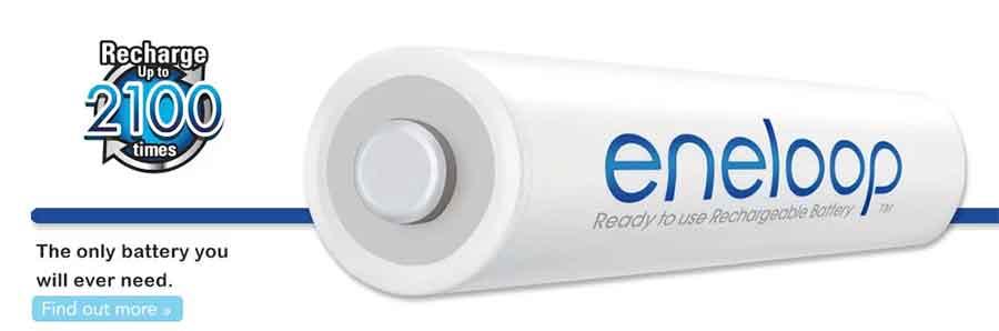 jual Panasonic Eneloop AA 2000mAh 2Pcs Baterai