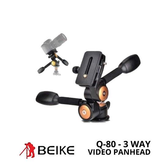 jual Panhead Beike Q-80 Pan-Tilt 3 Way