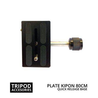 jual Quick Release Plate Base Kipon 80mm