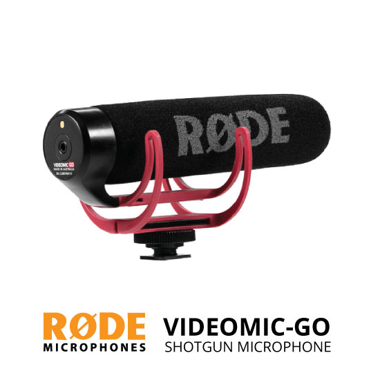 jual RODE VideoMic GO On-Camera Shotgun Microphone