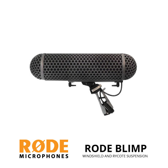 jual Rode Blimp Windshield and Rycote Shock Mount Suspension System for Shotgun Microphones