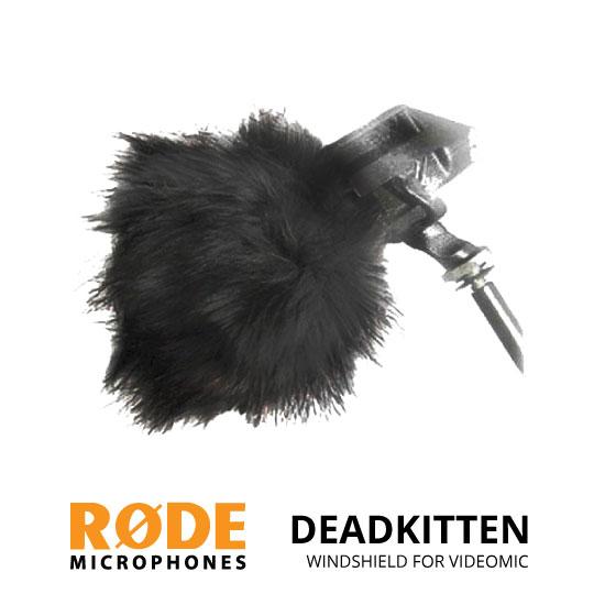 jual Rode Deadkitten Windshield for Stereo VideoMic