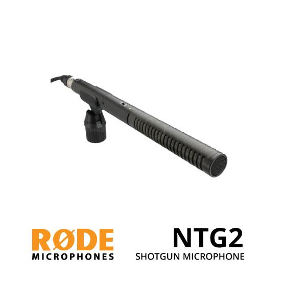 jual Rode NTG-2 Condenser Shotgun Microphone