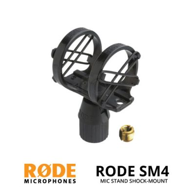 jual Rode SM4 Boompole / Mic Stand Shock Mount