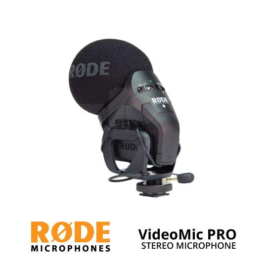 jual Rode Stereo VideoMic Pro