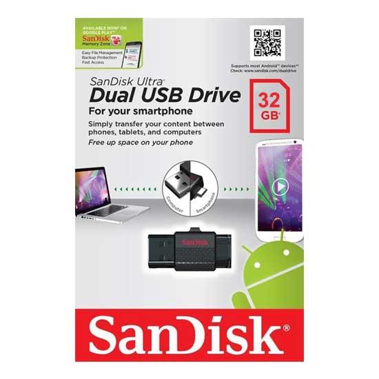 Sandisk Ultra Dual USB Drive 32GB