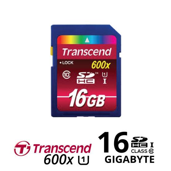 jual Transcend SDHC 600X 16GB