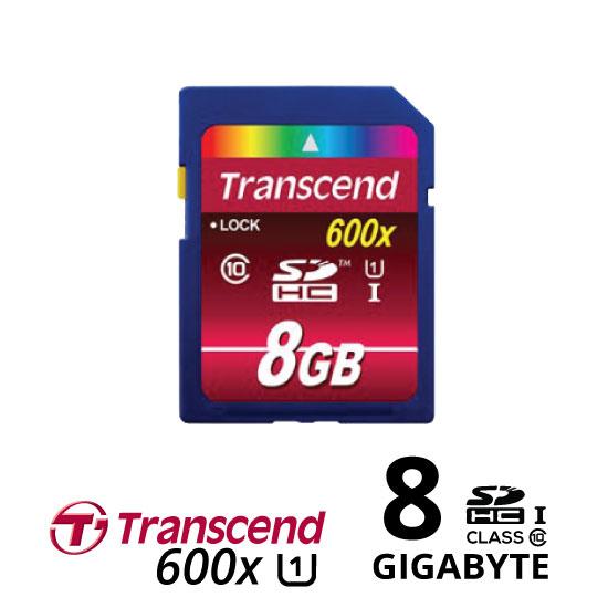 jual Transcend SDHC 600X 8GB