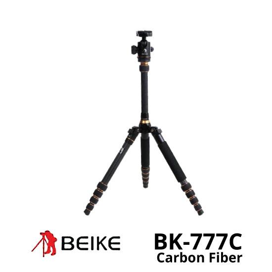 jual Tripod Beike BK-777C Carbon Fiber
