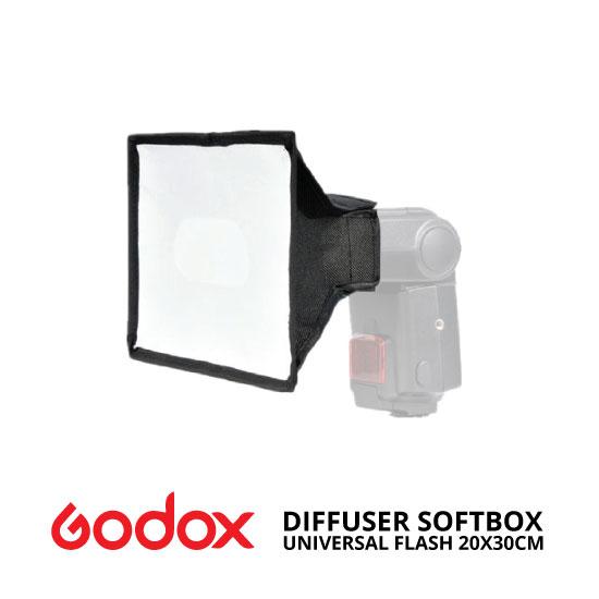 jual Universal Flash Diffuser Softbox Godox 20x30cm