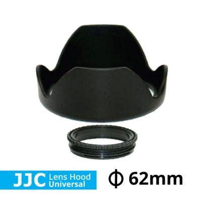 Jual Lens Hood Untuk Lensa Kamera DSLR JJC Lens Hood Universal Ukuran 62mm