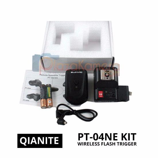 jual Wireless Flash Trigger PT-04NE Full Set