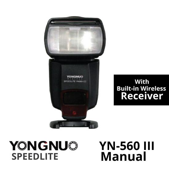 Jual YONGNUO YN-560 III Manual Flash with Built-in Wireless Receiver toko kamera online