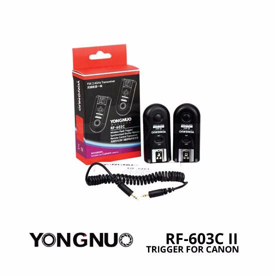 jual Yongnuo RF-603C II Trigger Canon