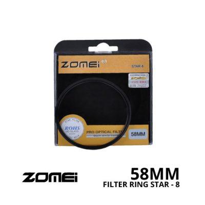 jual Zomei Filter Star-8 58mm