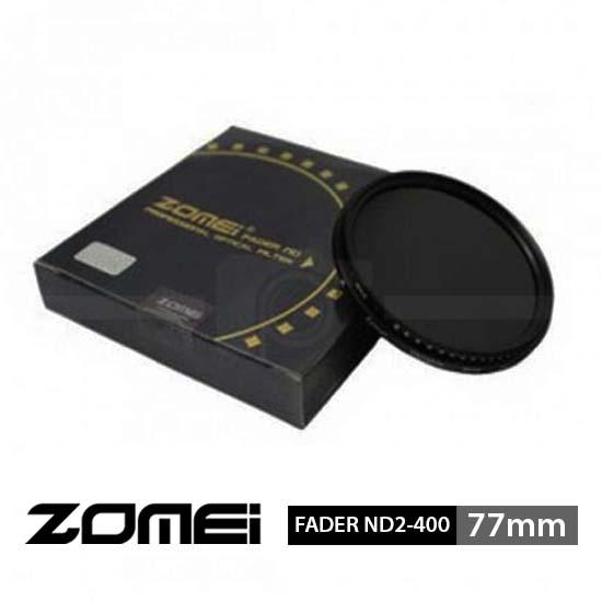 Jual Filter Fader ND2-400 Zomei 77mm surabaya jakarta