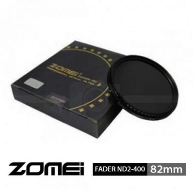 Jual Filter Fader ND2-400 Zomei 82mm surabaya jakarta
