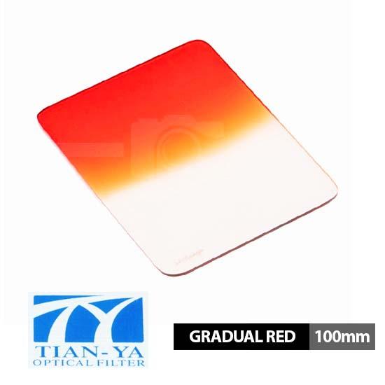 Jual Tianya 100mm Square Filter Gradual Red surabaya jakarta