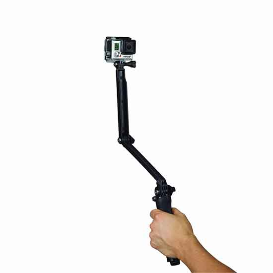 GoPro 3 Way 3-in-1 Mount