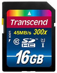jual memory card transced 16gb 300x