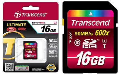 jual memory card transcend 16gb 600x ultimate