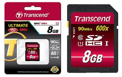 jual memory card transcend 8gb 600x ultimate