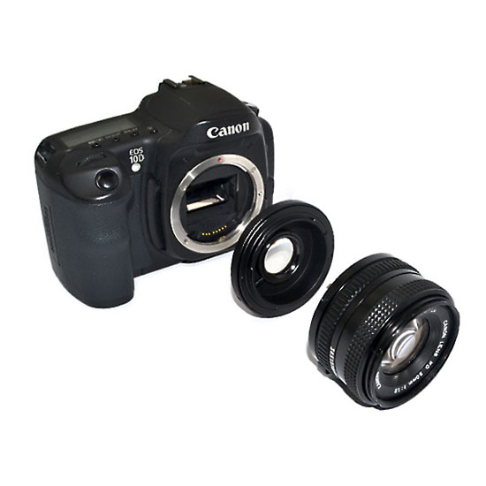 JJC Lens Adapter From Canon FD to EOS