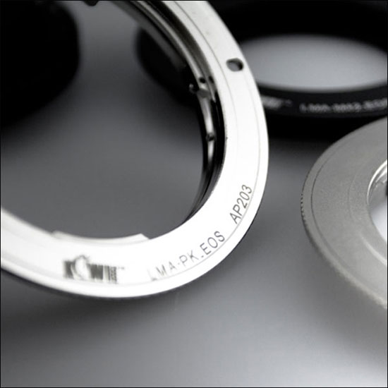 JJC Lens Adapter From Pentax K to EOS