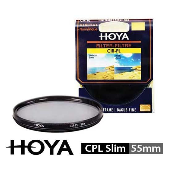 Jual HOYA Filter CPL Slim 55mm surabaya jakarta