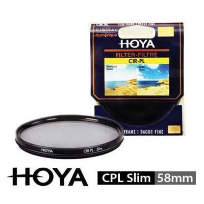 Jual HOYA Filter CPL Slim 58mm surabaya jakarta