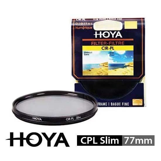 Jual HOYA Filter CPL Slim 77mm surabaya jakarta