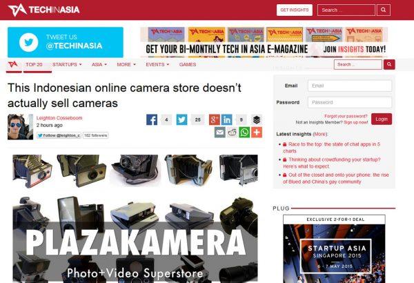 Techinasia 11 Desember 2014