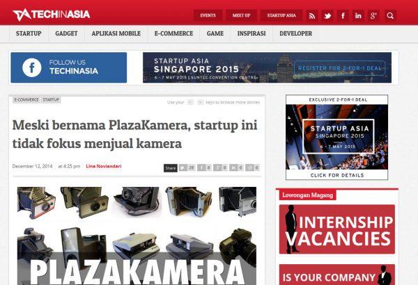 Techinasia 12 Desember 2014