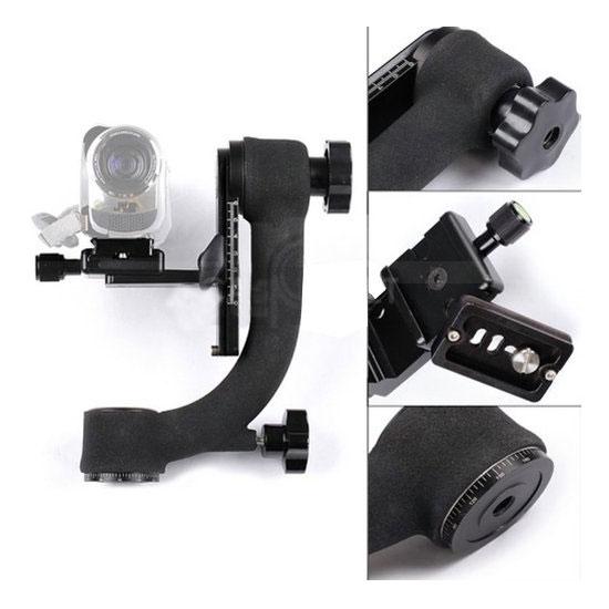 Beike BK-45 Gimbal Tripod Head Camera Bracket