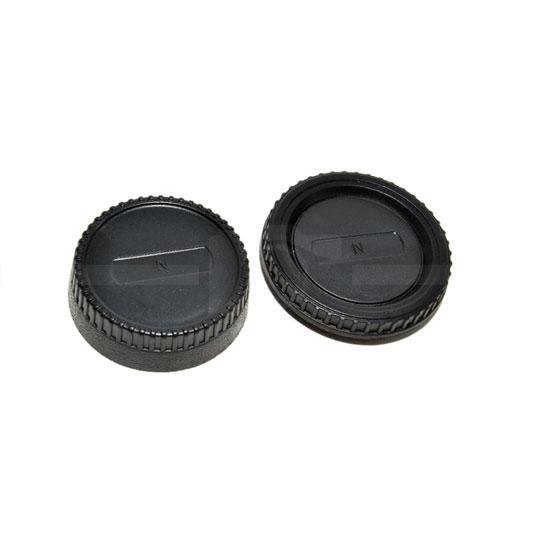 JJC Rear and Body Cap Nikon
