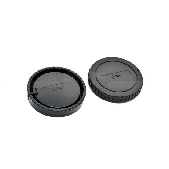 JJC Rear and Body Cap Sony E-Mount NEX
