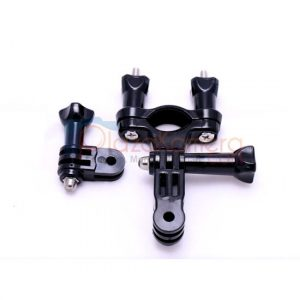 GoPro 3rd Party Handlebar-Seat Post Mount-with 3 WayPivot Arm