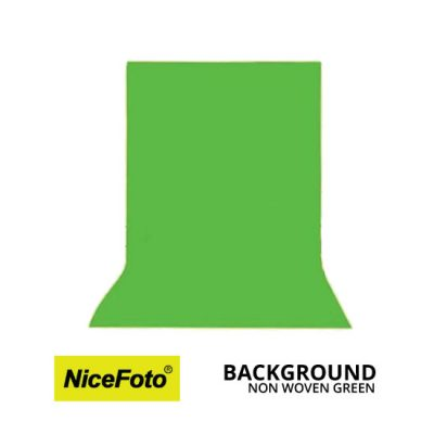 jual Background Non Woven - Green