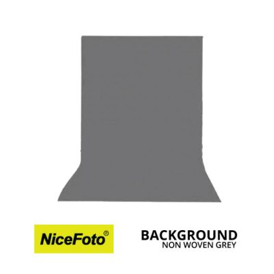 jual Background Non Woven - Grey