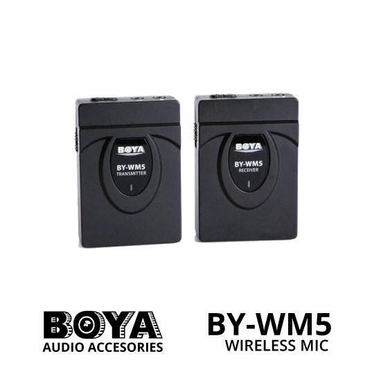 jual Boya Wireless Mic BY-WM5