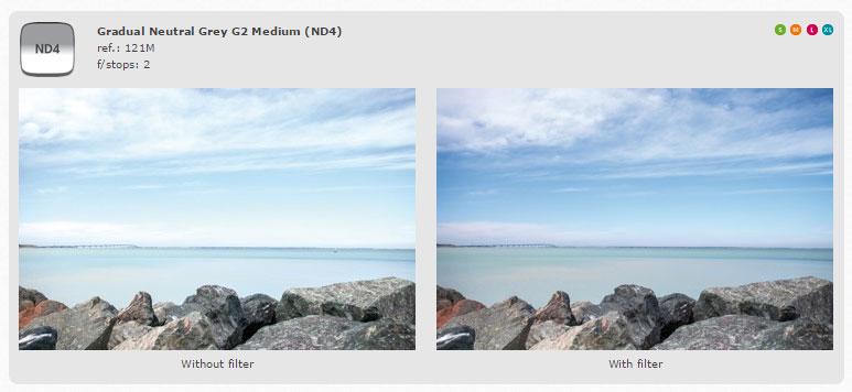 Cokin-Filter-Z-Series-100mm-Grad-ND4-Z121M