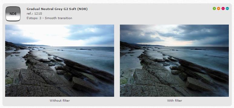 Cokin-Filter-Z-Series-100mm-Grad-ND8-Z121S